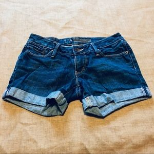 Bullhead Denim Cuffed Shorts Size 0